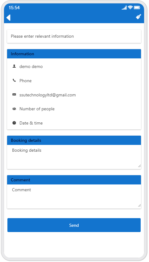 How To Make Booking App with swiftspeedappcreator